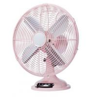 3 Speed 110V 50Hz Retro Electric Fan , 12inch Full Copper Motor Retro Portable Fan