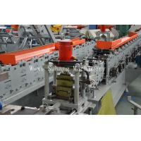 Buy cheap Automatic Shutter Door Roll Forming Machine 3 Phase GCr15 Roller from wholesalers