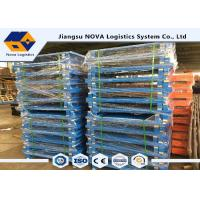 Buy cheap America Standard Size Rack Spare Parts  Single / Double Faced Steel Pallet from wholesalers