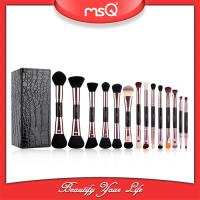 Buy cheap 2017  fashion  14pcs Double Sided Brush Sets Makeup Private Label Double End Cosmetics Brush Set Wholesale from wholesalers