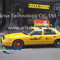 Buy cheap Double sided P5 Taxi top advertising display P4 Taxi LED banner signs P5 TAXI LED Display from wholesalers