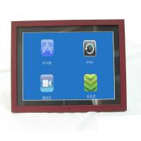 Buy cheap Unique 15 Inch Video High Resolution Digital Picture Frame With Wood Frame from wholesalers