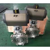 Buy cheap Triple Offset Pneumatic Actuator 304 Material Wafer Connection Butterfly Valve,Triple offset Lug Type Butterfly Valve from wholesalers