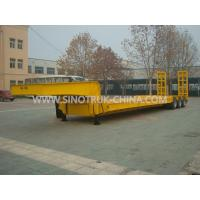 Buy cheap 13.5M Low-bed Semi-trailer  3 PCS BPW axles 315/80R22.5 tyres  ABS  Optional from wholesalers