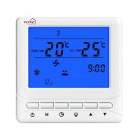 Buy cheap Weekly Programmable Fan Coil Thermostat Omron Relay NTC Sensor CE RoHS from wholesalers