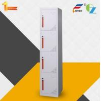 Buy cheap High quality and durable knock-down 4 door gym locker single line from wholesalers