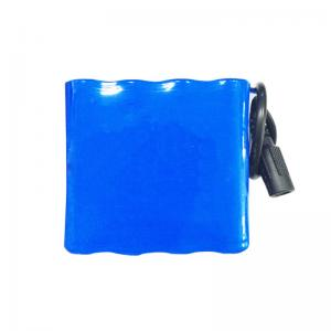 Buy cheap MSDS 18650 7.4V 8000mAh Lithium Ion Battery Pack CC CV Charge product