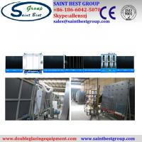 Buy cheap Fully Automatic Insulating Glass Vertical Double Glazing Equipment / Production Line from wholesalers
