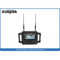 Buy cheap Military Outdoor 2.4 Ghz Video Receiver / Handheld High Definition Wireless Digital Receiver from wholesalers