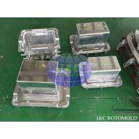 Buy cheap Aluminum Rotational Molds With Mirror Surface Treatment , Ice Boxes Roto Moulder product