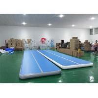 Buy cheap Floating Water Blue Inflatable Sports Games Air Track Tumbling Mat For Gymnastics from wholesalers