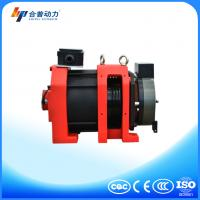 Buy cheap WTD2-P 800kg noiseless elevator component roping 2:1 Disc brake elevator traction machine from wholesalers
