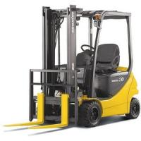 Buy cheap 1070mm Fork Length 2500kg DC Motor Electric Forklift Truck with pneumatic tires from wholesalers