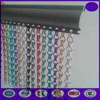 Buy cheap 100% anodized aluminum chain fly link curtain screen  with special track from wholesalers