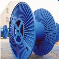 Buy cheap Multi Color Wire Cable Accessories Round Reinforced Corrugated Bobbin from wholesalers