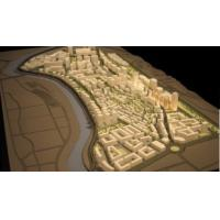 Buy cheap Area Master Plan Architectural Model Maker , State Planning Scale Model from wholesalers