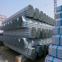 Buy cheap Tianjin Q345 Galvanized steel pipe/GI pipe from wholesalers
