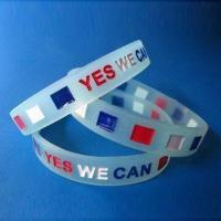 Buy cheap Promotional Bracelets, Available in Various Exquisite Styles, OEM and ODM Orders are Welcome product