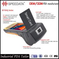 Buy cheap C# Code Android Programmable Card Reader Handheld PDA ID Card Scanner from wholesalers