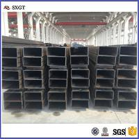 Buy cheap Small profits and quick returns Q195 hot rolled rectangle tube steel tube Steel Structure from wholesalers
