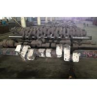 Buy cheap ASTM 34CrNiMo6 Alloy Steel Forged Shafts Crankshaft Forging For Low Speed Diesel Engine from wholesalers