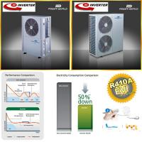 Buy cheap With Variable frequency drive R410 DC inverter EVI Heat Pump Air Souce Heat Pump from wholesalers