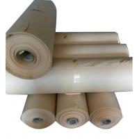 Buy cheap High quality rolls package 80g 1092 width  brown  no PE  film VCI protection paper for metal anti rust package from wholesalers