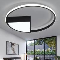 Buy cheap Diameter 40 50 60 cm Ceiling Lights White or black frame for home lighting living room (WH-MA-78) from wholesalers