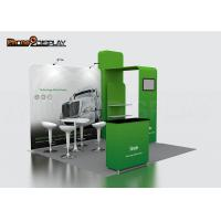 Buy cheap Color Custom Trade Show Booth Stand , 3x3 Exhibition Booth Display System from wholesalers