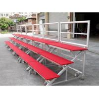 Buy cheap Red Mobile Aluminum Stage Risers Non Slip For Performing Easy Installed from wholesalers