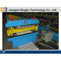 Roof Tile Corrugated Roll Forming Machine with Comuter Control System for Shelving , HVAC