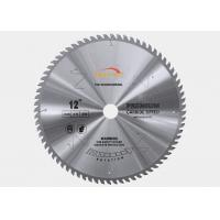 Buy cheap 250mm Diameter TCT Saw Blade Laminated Panels MDF Cutting TCG Teeth Shape from wholesalers