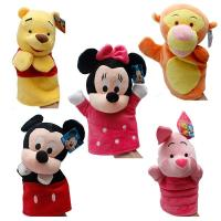 Buy cheap Winnie Pooh Tigger Stitch Eyore Plush Finger Puppets Yellow Pink Blue from wholesalers