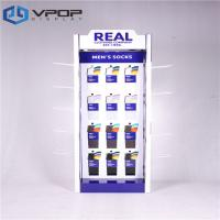 Buy cheap Four Sides Cardboard Rotating Hook Display Durable For Lady's And Men's Socks from wholesalers