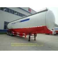 Buy cheap Semi Trailer Type Heavy Duty Truck 60 Ton Bulk Cement Tanker Trailer 35m3 from wholesalers