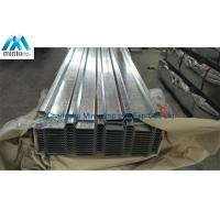 Buy cheap Anti Corrosion Galvanised Corrugated Steel Roofing Sheets SGCC SGCH Shockproof from wholesalers
