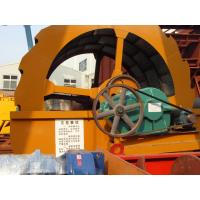 Buy cheap grave 5mm wheel sand washing machine 50TPH with gear box and simens motor from wholesalers
