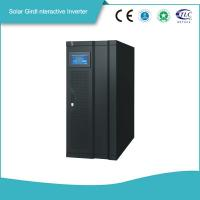 Buy cheap Smart Gird Interactive Solar Power Storage 3 Phase Inverter MPPT Solar Controller High efficiency   Power Backup from wholesalers