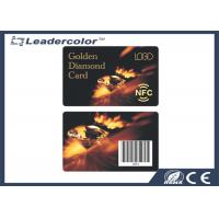 Buy cheap Membership Loyalty NFC Tag Card Plastic Barcode Printing Contactless from wholesalers