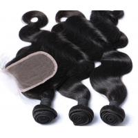 Buy cheap Fashion Malaysian Body Wave Virgin Hair , Malaysian Curly Hair Extensions 10A product