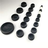 Buy cheap Black Round Square Furniture Feet End Cap Plastic Blanking Plug from wholesalers