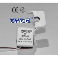 Buy cheap mini single phase split core current transformer 30A:37.5mA SCT-006 6mm diameter product