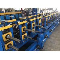 Buy cheap High speed 10m/min 1.5-2mm galvanized Guide Rail Roll Forming Machine 2 sets of punching dies from wholesalers