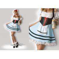 Oktoberfest Girl 1039  Halloween Adult Costumes Cosplay Dress Clubwear With Scarf