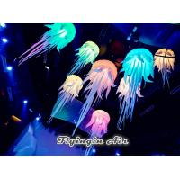 Inflatable Lighting Jellyfish with Changing Color Led Light for Party Night Supplies