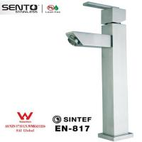 Buy cheap 304# stainless steel sensor tap for wash basin from wholesalers