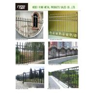Buy cheap About wrought iron products,we make gate,entrance doors,fences,balustrade and balcony,flowers,decorative accessories,etc from wholesalers