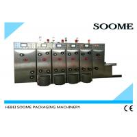 Buy cheap High Speed Flexo Printer Slotter Die Cutter Carton Printing Machine With PLC from wholesalers