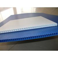 Buy cheap 2018 China factory first hand Corflute pp hollow printing sheet,coroplast pp sheet from wholesalers