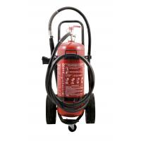 Buy cheap Durable 50kg 40% Powder Trolley Fire Extinguisher Odorless For Computer Room from wholesalers